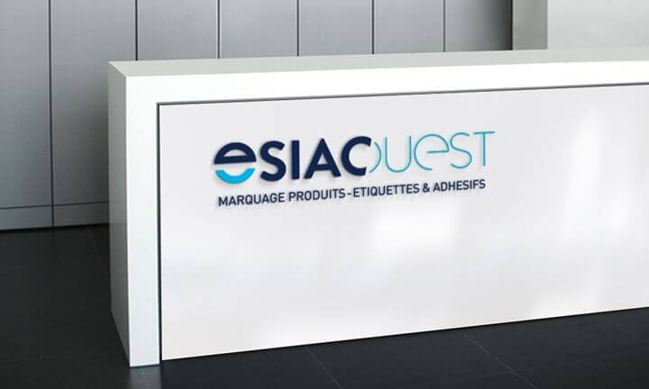 Nouvelle identité graphique pour Esiac Ouest avec ce logo créé par Kagency