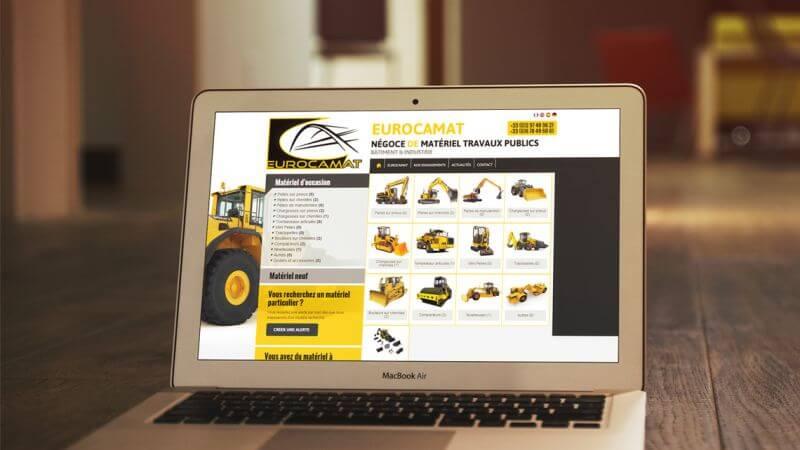 Kagency Nantes réalise le site web d'Eurocamar