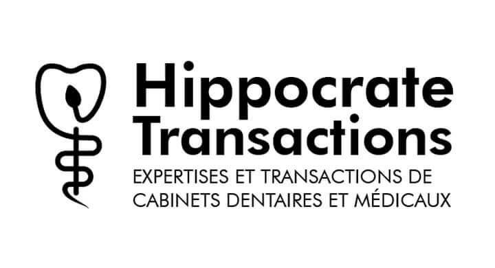 Kagency a créé le logotype de la société Hippocrate Transactions à Nantes