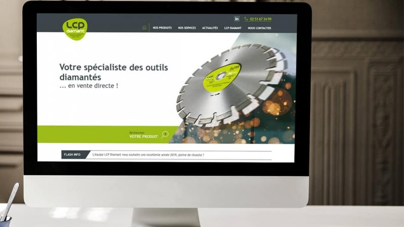 Avis de LCP Diamant sur l'agence web Kagency Nantes
