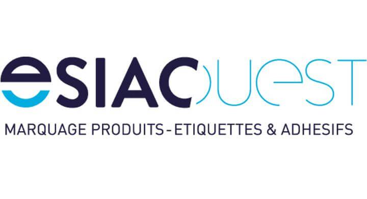 Création du logo d'Esiac Ouest Nantes par Kagency