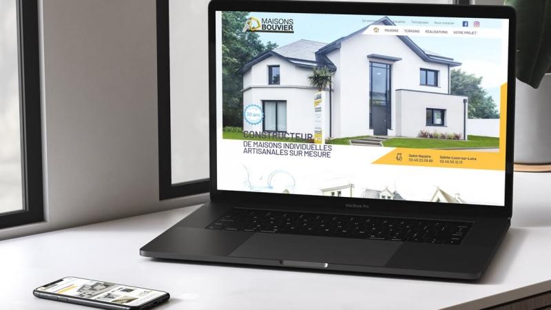 Témoignage des Maisons Bouvier sur l'agence web Kagency Nantes