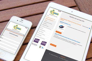 Refonte du site web en responsive design pour Rabas