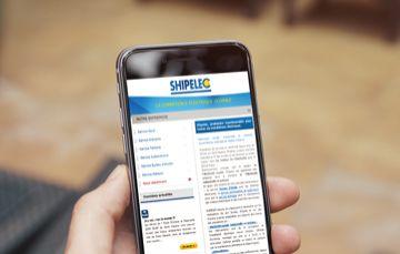 SIte web responsive réalisé par Kagency Nantes pour Shipelec