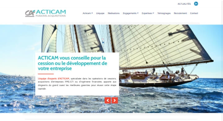 Témoignage d'ACTICAM sur l'agence web Kagency Nantes