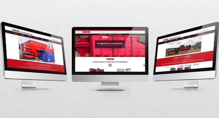 Lancement des 3 sites web de Thiévin par Kagency Nantes